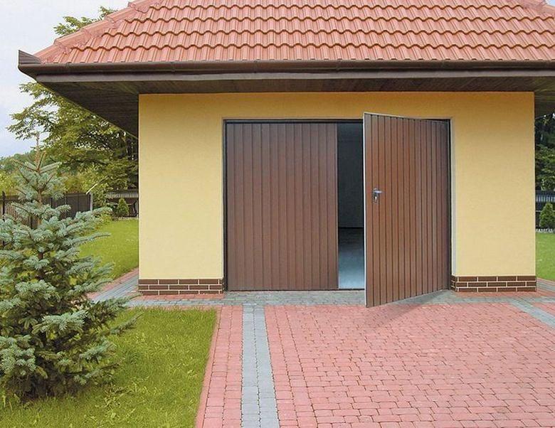 tradycyjne bramy garażowe