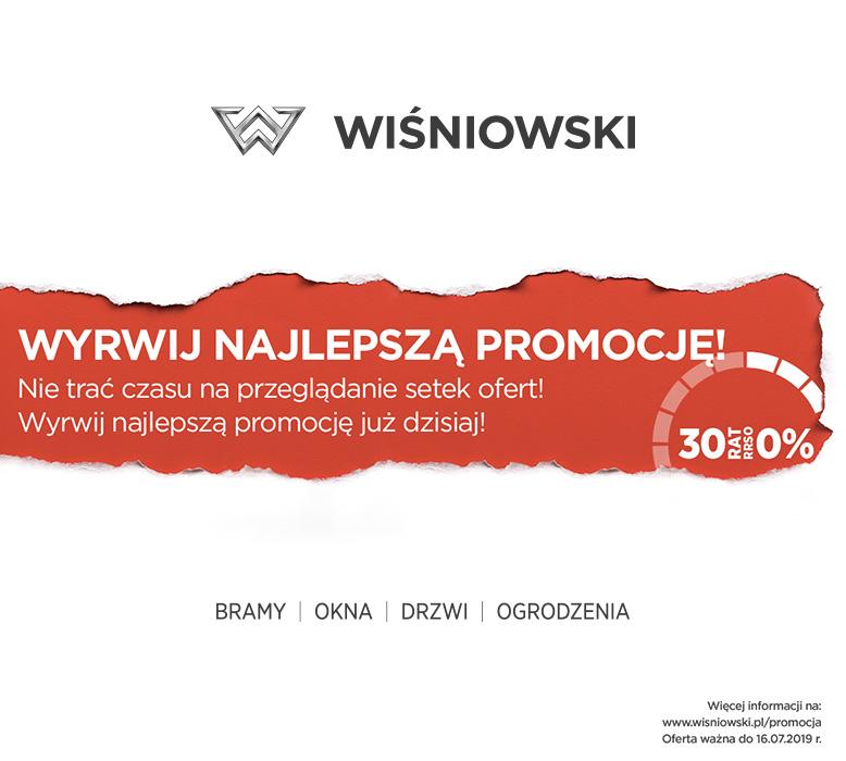 promocje Wiśniowski drzwi